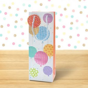 balloons bottle bag