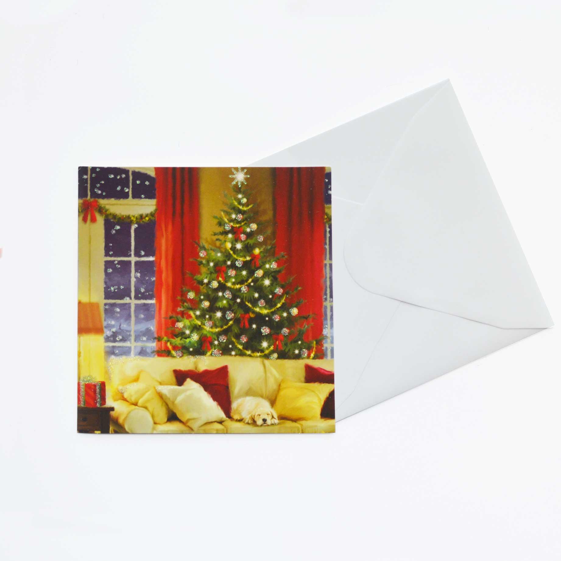Christmas Cards x8 Traditional Christmas - Garlanna Greeting Cards