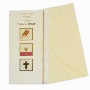 son communion card
