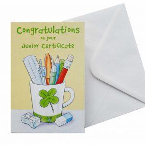 congratulations on your junior cert