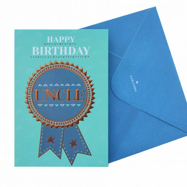Birthday Card Uncle