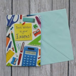 best wishes in your exams