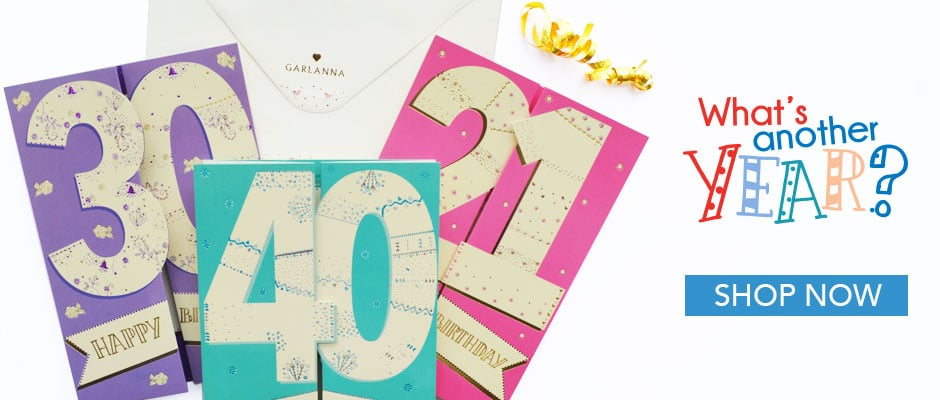 Greeting cards ireland garlanna irish birthday cards m4hsunfo Gallery