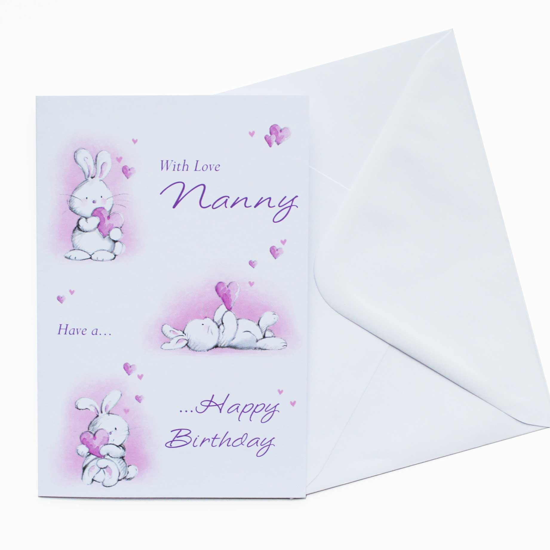 Birthday Card Nanny